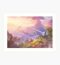 Breath of Adventure  Art Print