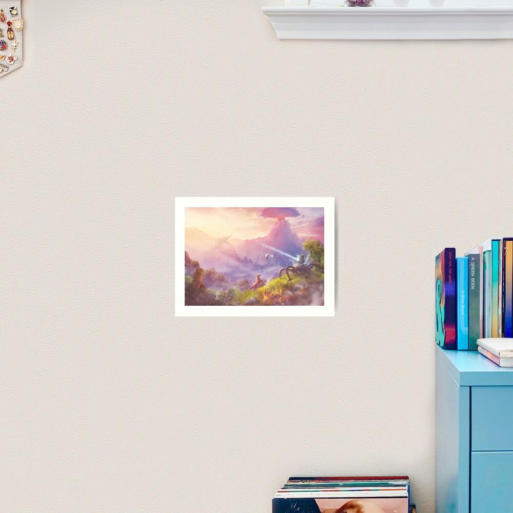 Breath of Adventure  Art Print