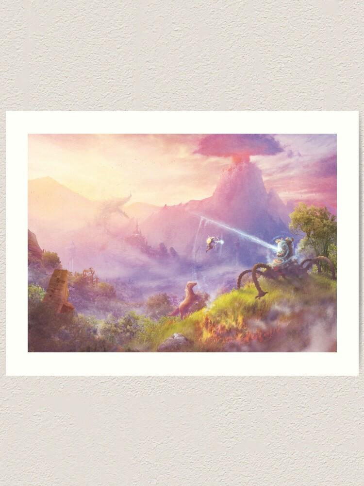 Alternate view of Breath of Adventure  Art Print