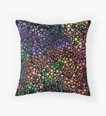 Hey spaceman, I like your glitter :: V2 Throw Pillow