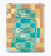Mosaic 1498 - Mason Jar Ball Jar Hipster iPad Case/Skin