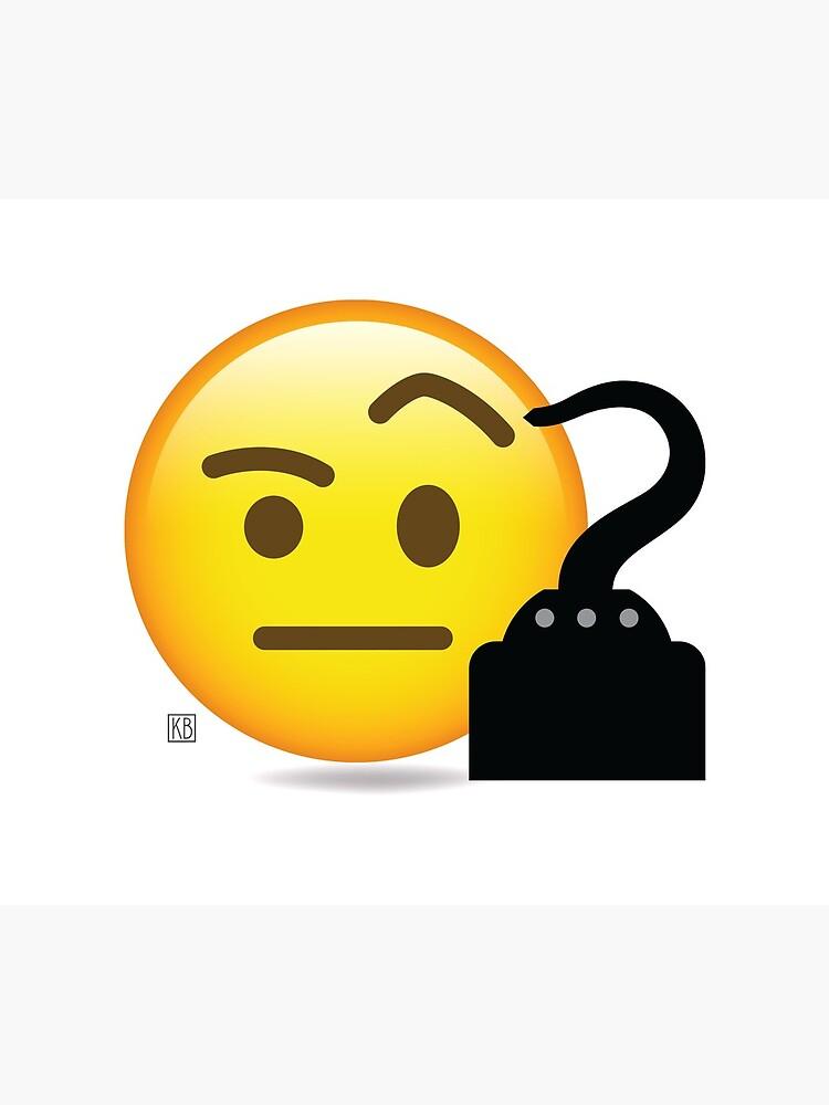 Pirat Emoji von Flipperbrain