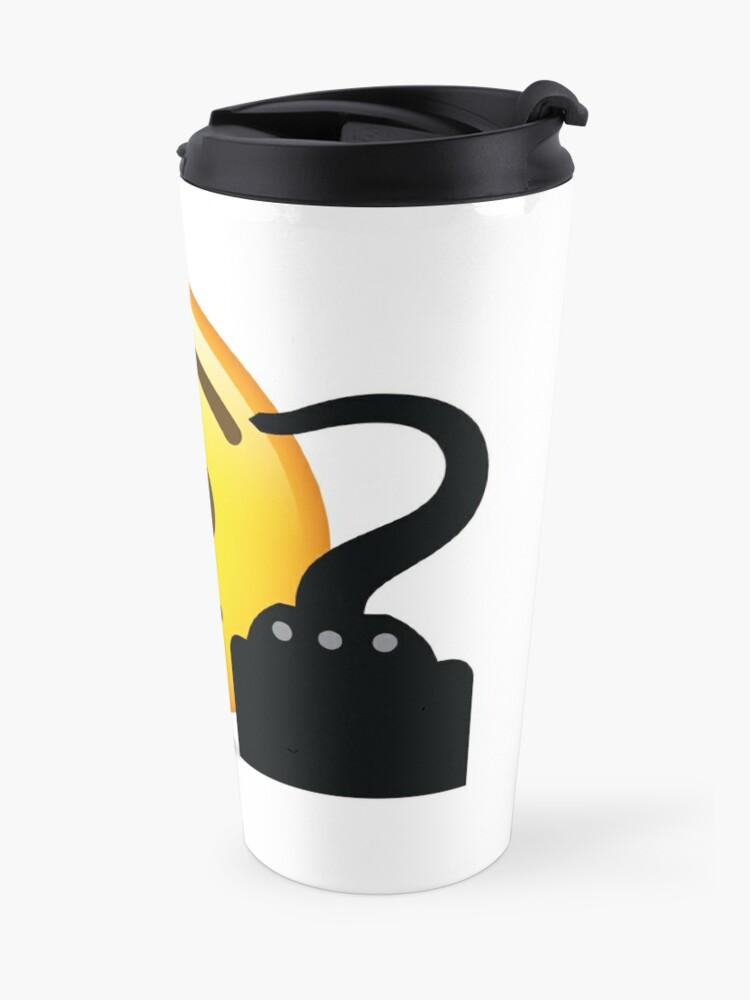 Alternative Ansicht von Pirat Emoji Thermobecher