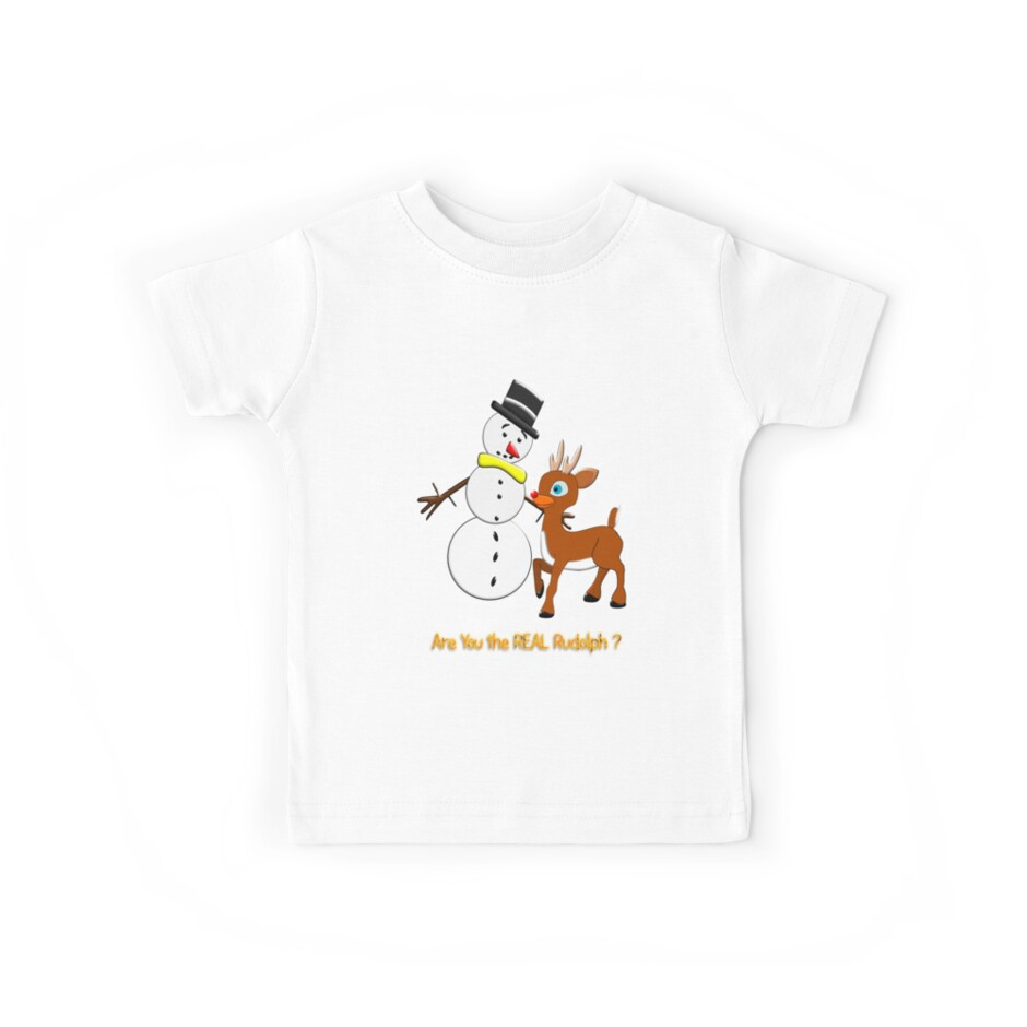 Are You the REAL Rudolph T-shirt design by Dennis Melling