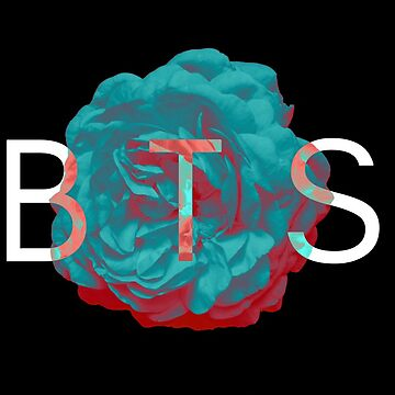 BTS FLORAL: +blue peony eng ver. by pond7