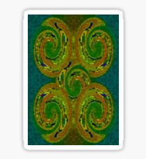 Celtic Swirls Sticker