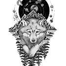 «Space Wolf» de Ruta Dumalakaite