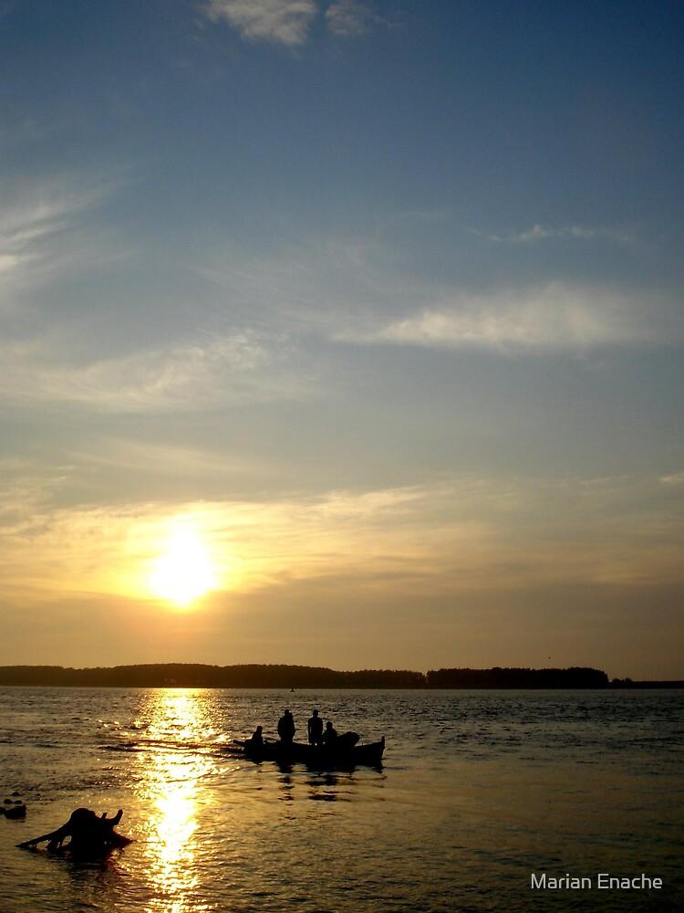 sunrise by Marian Enache