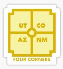 Four Corners - Yellow Sticker