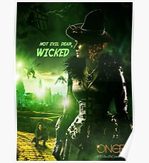 Once Upon a Time - Wicked - Zelena Poster