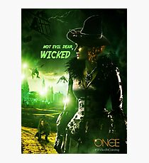 Once Upon a Time - Wicked - Zelena Photographic Print