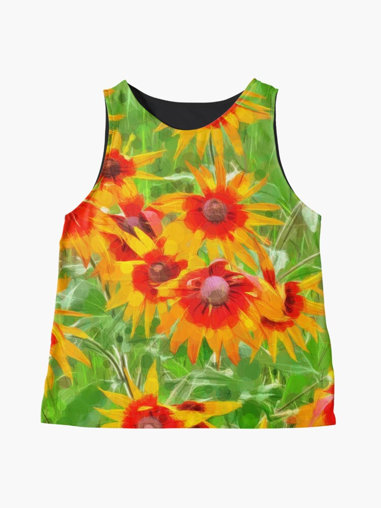Alternate view of Flowers Sleeveless Top