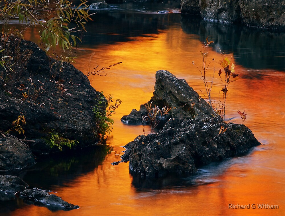 Autumn Fire by Richard G Witham