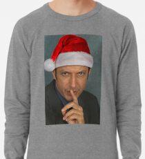 Christmas Jeff Goldblum Lightweight Sweatshirt
