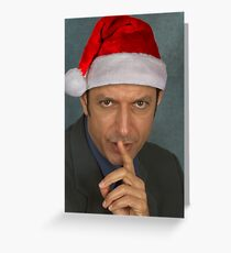 Christmas Jeff Goldblum Greeting Card