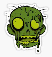 Sewer Zombie Sticker