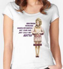 RuPaul's Drag Race - Season 7 - Katya Women's Fitted Scoop T-Shirt