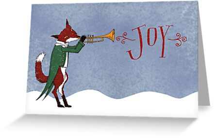 Christmas Fox by SusanSanford