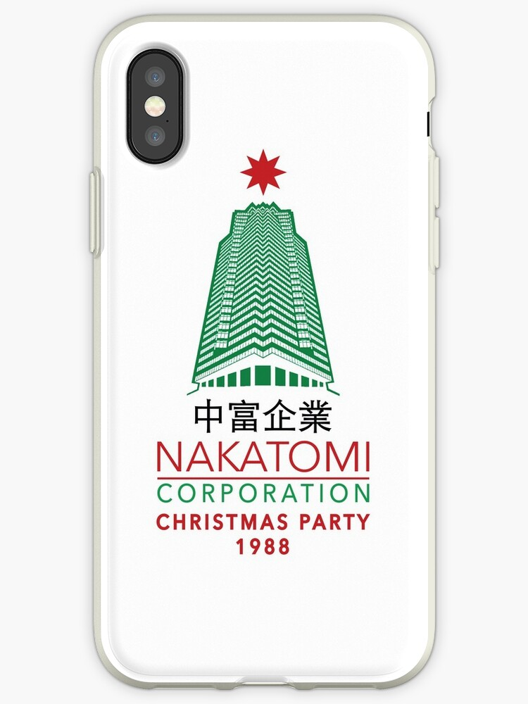 Nakatomi Corporation Christmas Party Tower Variant by Candywrap Design