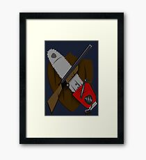 Coat of Army of Darkness Framed Print