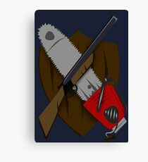 Coat of Army of Darkness Canvas Print