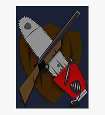 Coat of Army of Darkness Photographic Print