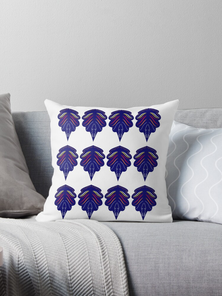 Design mandalas blue by Bee and Glow Illustrations Shop