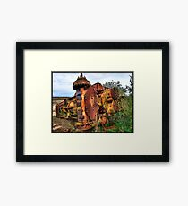Inglorious end Framed Print