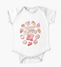Whatch'ya Gonna Do With That Dessert? Short Sleeve Baby One-Piece