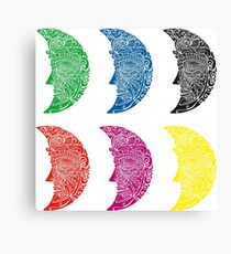 Six moons Canvas Print