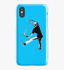 High Flying Scooter Boy - Stunt Scooter iPhone Case/Skin