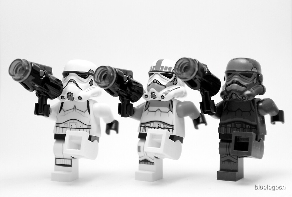 Lego Star Wars Stormtroopers Can-Can  by bluelegoon