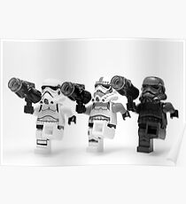 Lego Star Wars Stormtroopers Can-Can  Poster