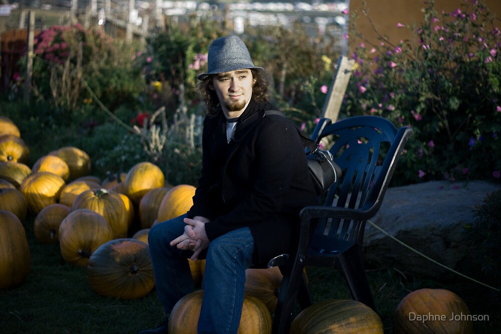 In The Pumpkin Patch by Daphne Johnson