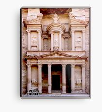 PETRA JORDAN : World Heritage Historic Site Print Metal Print