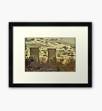 Richborough Power Station Framed Print