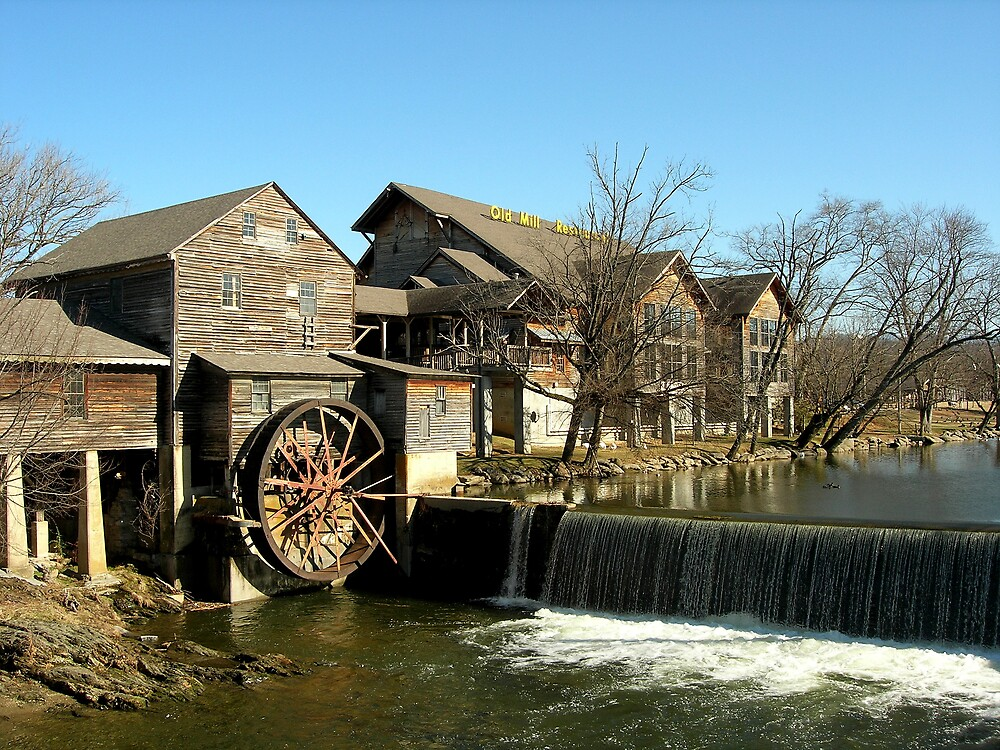 Old Mill Restaurant  by Marcaribe