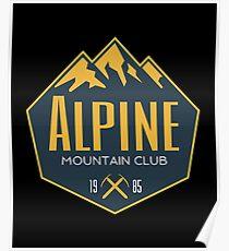 Alpine Mountain Club Poster