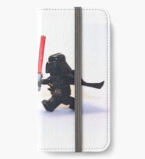 Lego Star Wars Darth Vader and Shark Suit Guy Pursuit Minifigure iPhone Wallet/Case/Skin