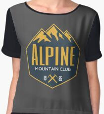 Alpine Mountain Club Chiffon Top