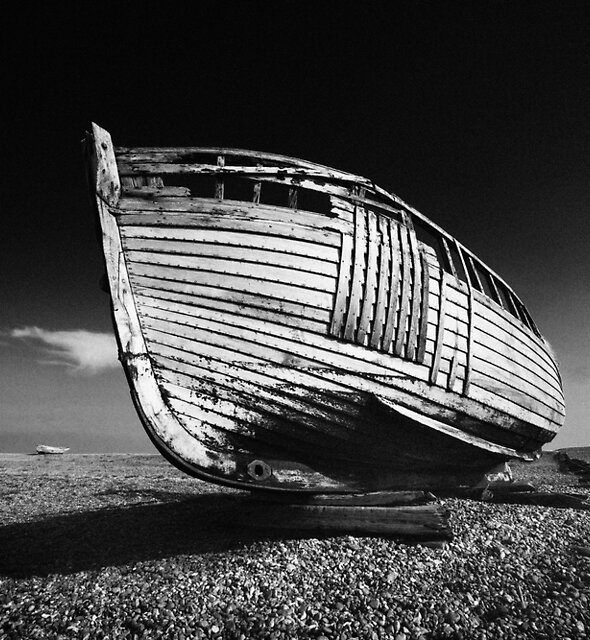 A Lonely Boat by Dave Hare