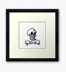 Murray, The Demonic Talking Skull Framed Print