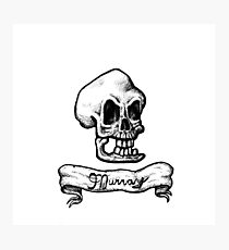 Murray, The Demonic Talking Skull Photographic Print