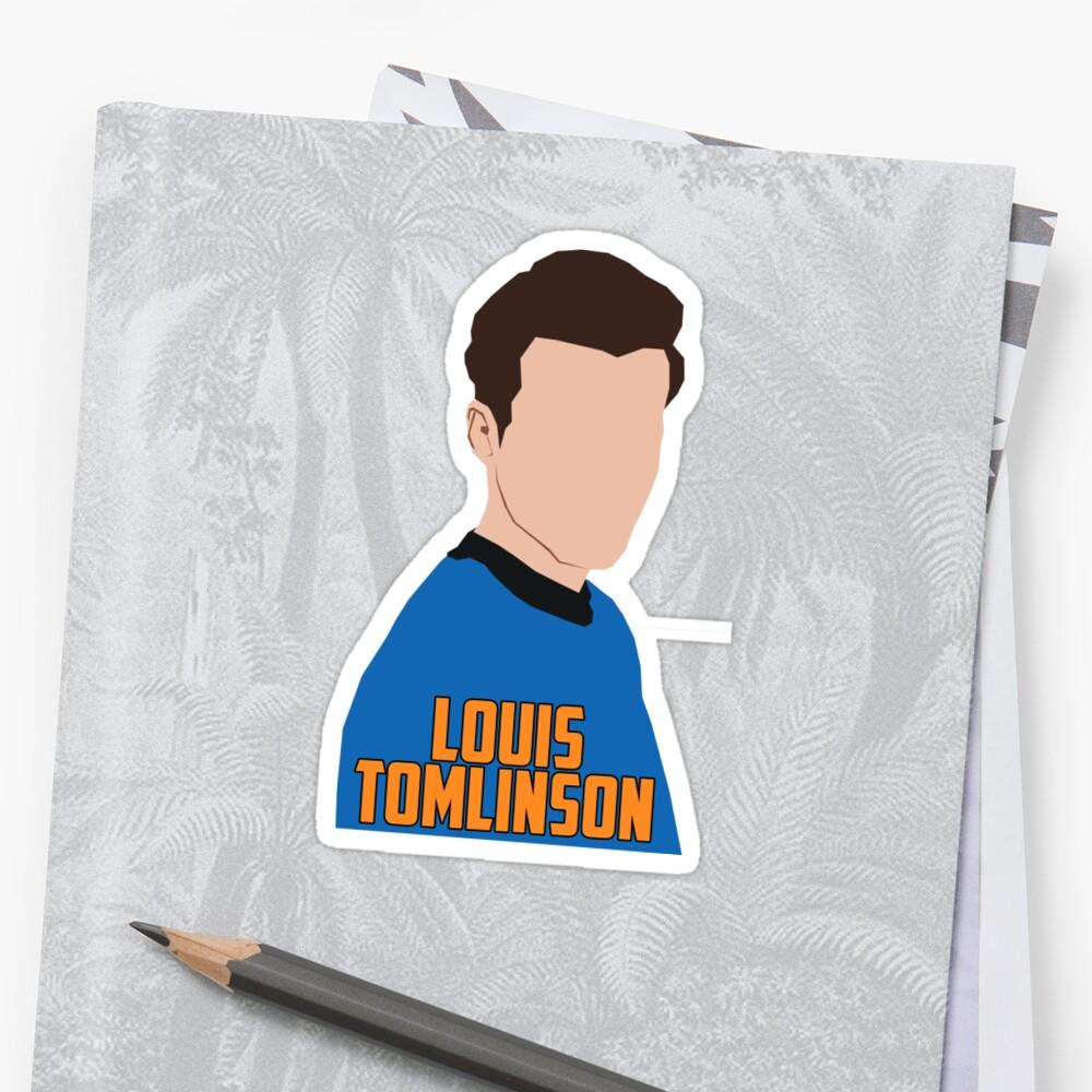 LOUIS TOMLINSON by Luana Gonzaga (@_luanarts)