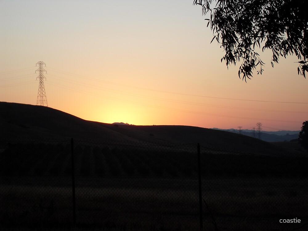 sunset  by coastie