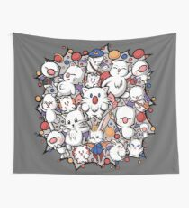 Final Fantasy Moogle-verse II Wall Tapestry