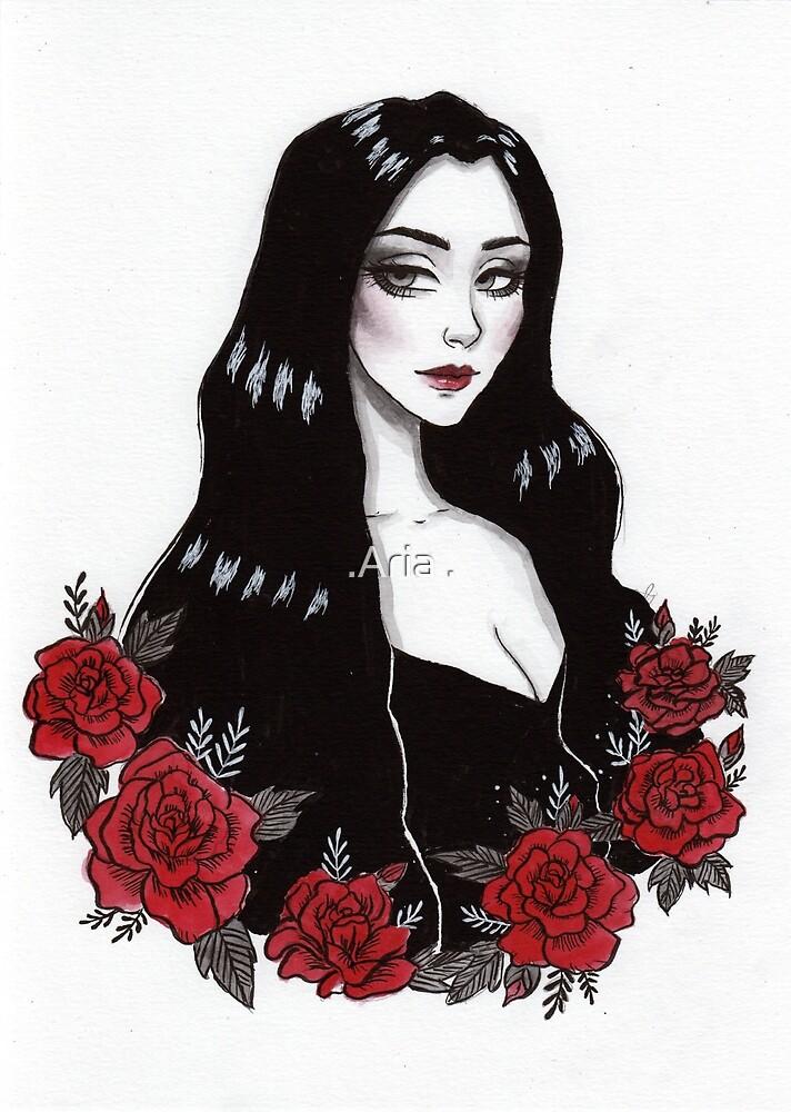Dark Lady by ARiAillustr