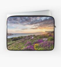 The Needles At Sunset Isle Of Wight Laptop Sleeve