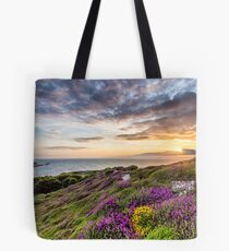 The Needles At Sunset Isle Of Wight Tote Bag