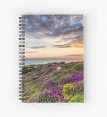 The Needles At Sunset Isle Of Wight Spiral Notebook
